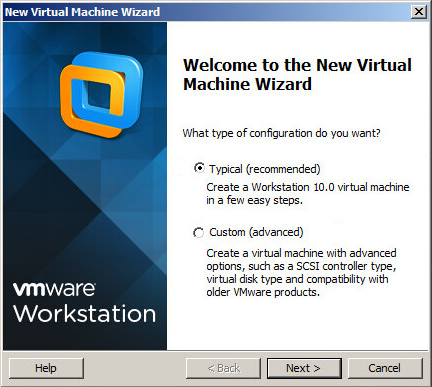 VM Creation Wizard